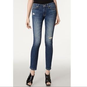 Vince Distressed Skinny Ankle Jeans 27